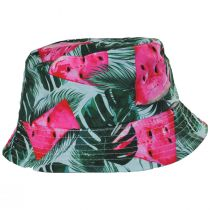 Kid's Watermelon Cotton Bucket Hat alternate view 2