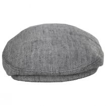Herringbone Linen Ivy Cap alternate view 6