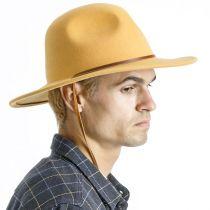 Tiller III Wool Felt Fedora Hat alternate view 17