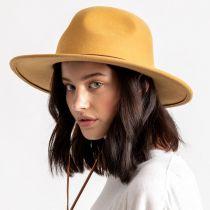 Tiller III Wool Felt Fedora Hat alternate view 12