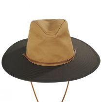 Ranger Brown/Tan Cotton Aussie Hat alternate view 2