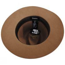 Wesley Coconut Wool Felt Fedora Hat alternate view 4