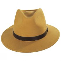 Messer Honey Wool Felt Fedora Hat alternate view 2