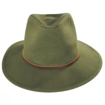 Wesley Cotton Fedora Hat alternate view 2
