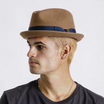 Gain Coconut Wool Felt Fedora Hat alternate view 15