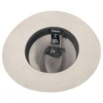 Wesley Silver Wool Felt Fedora Hat alternate view 4