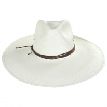 Canopy Shantung Straw Western Hat alternate view 6