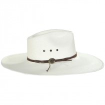 Canopy Shantung Straw Western Hat alternate view 7