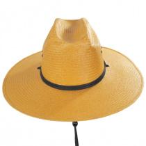 Harcourt Shantung Straw Cattleman Western Hat alternate view 2
