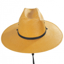 Harcourt Shantung Straw Cattleman Western Hat alternate view 6