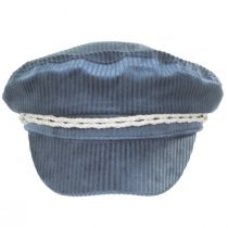 Ashland Light Blue Corduroy Fiddler Cap alternate view 2