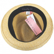 Joanne Toyo Straw Trilby Fedora Hat alternate view 12