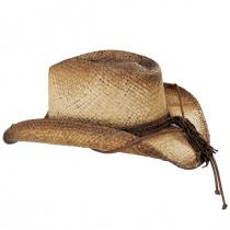 Lone Ranger Raffia Straw Western Hat alternate view 3