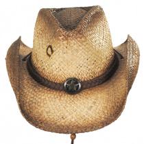 Lone Ranger Raffia Straw Western Hat alternate view 10