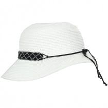 Diamante Toyo Straw Cloche Hat alternate view 11