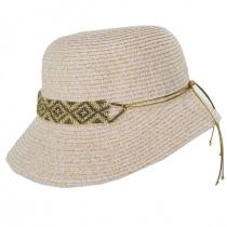 Diamante Toyo Straw Cloche Hat alternate view 7