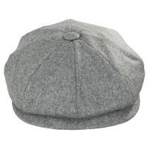 Clapham Italian Wool Newsboy Cap alternate view 6
