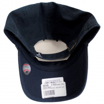 Atlanta Braves MLB Clean Up Strapback Baseball Cap Dad Hat alternate view 4