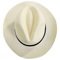 Diego Montecristi Fino Grade 20 Panama Straw Fedora Hat alternate view 5