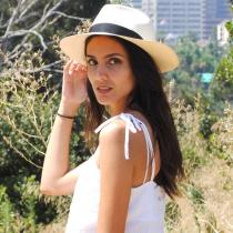 Diego Montecristi Fino Grade 20 Panama Straw Fedora Hat alternate view 9