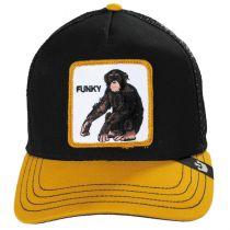 Monkey Mesh Trucker Snapback Baseball Cap alternate view 2