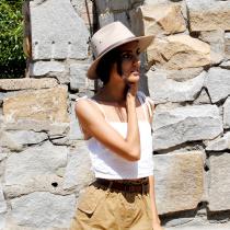 Cotton Safari Fedora Hat alternate view 7