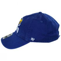 Los Angeles Rams NFL Clean Up Strapback Baseball Hat alternate view 3