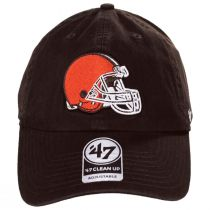Cleveland Browns NFL Clean Up Strapback Baseball Hat alternate view 2