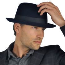 Saxon Fur Felt Fedora Hat alternate view 92