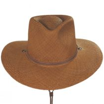 Kalahari Panama Straw Outback Hat alternate view 2