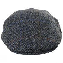 Harris Tweed Overcheck Herringbone Wool Ivy Cap alternate view 14
