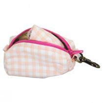Pink Gingham Filter Pocket Cotton Face Cover + Pouch alternate view 4