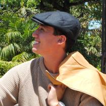 Putney Japanese Wool Newsboy Cap alternate view 10
