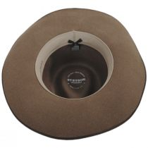 Westview Crushable Wool Felt Outback Hat alternate view 12