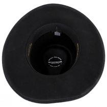 John Wayne The Fort Black Wool Felt Crushable Western Hat alternate view 8