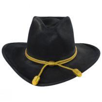 John Wayne The Fort Black Wool Felt Crushable Western Hat alternate view 2