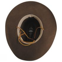 Makinnon Crushable Wool Felt Western Hat alternate view 8