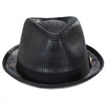 Road Master Faux Leather Fedora Hat alternate view 6