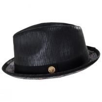 Road Master Faux Leather Fedora Hat alternate view 7