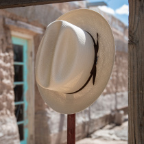 Open Road Shantung Straw Western Hat alternate view 12