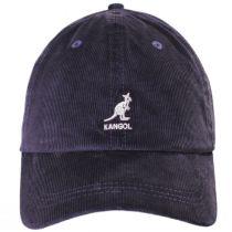 Logo Corduroy Strapback Baseball Cap Dad Hat alternate view 6