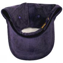 Logo Corduroy Strapback Baseball Cap Dad Hat alternate view 8
