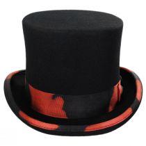 Stunt Distressed Wool Felt Top Hat alternate view 6