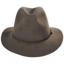 Bourke Wool Felt Crushable Safari Fedora Hat alternate view 2