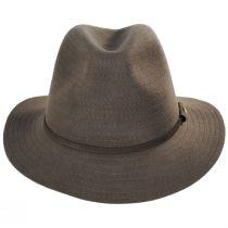 Bourke Wool Felt Crushable Safari Fedora Hat alternate view 10