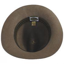 Bourke Wool Felt Crushable Safari Fedora Hat alternate view 12