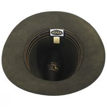 Bourke Wool Felt Crushable Safari Fedora Hat alternate view 8