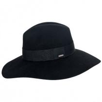 Piper Wool Felt Floppy Fedora Hat alternate view 9