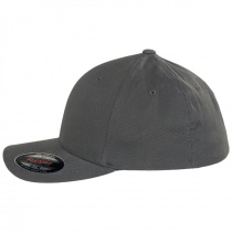 Brushed Twill MidPro FlexFit Fitted Baseball Cap alternate view 3