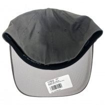 Brushed Twill MidPro FlexFit Fitted Baseball Cap alternate view 4